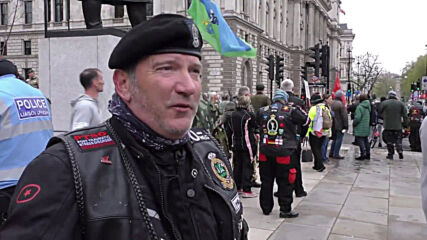 UK: Rolling Thunder veterans ride against prosecution of Soldier F in London