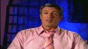 Звездата Силвестър Сталоун говори за легендарният си герой Стивънс от филма Ловки Ръце (2003)