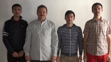 Movember България 2013: Китодар Тодоров и квартет Муст - Дядо Тричко