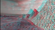 Anaglyph 3d - Landscape with 'in-screen' 3d