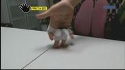 Луди корейци-таеклондо с пръсти