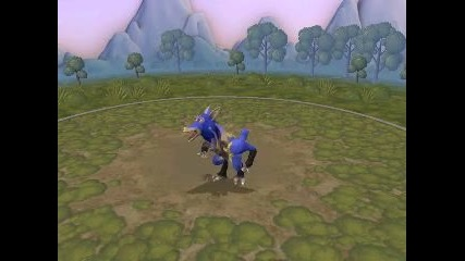 My Spore Creations - Lucario