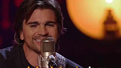 Juanes - A Dios Le Pido - demo karaoke