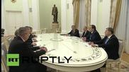 Russia: Putin thanks UN Sec-Gen Ban Ki-moon, who replies in Russian