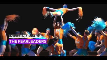 Inspire in a Minute: The male cheer squad with a major message