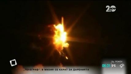 Ракета на НАСА се взриви при изстрелване