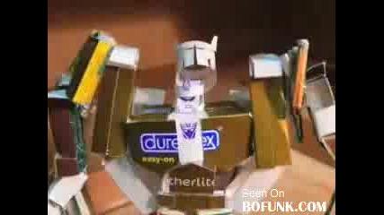 Най-великите роботи от цигарени кутий (transformers)