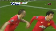 Man Utd - Blackburn - Bg audio - Първи гол на Бербатов