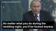 100% Смях! Путин казва шега, а Меркел се сепва