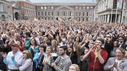 Ireland Backs Legalizing Gay Marriage by a Landslide