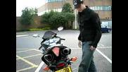 Yamaha R1 2008 With Yoshimura Trc Carbon Fibre (1)