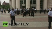 USA: Police make mass arrests at Mike Brown solidarity rally