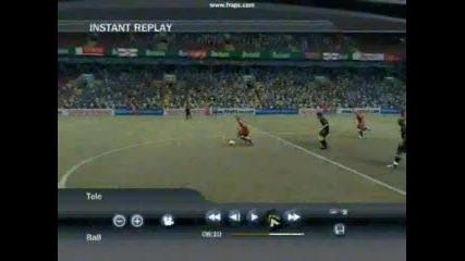 Гол От Центъра - Fifa 2007