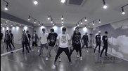 + Превод ( Mirrored) Exo - Dance Practice ( Dubstep Intro ) For Kbs Gayo Daejun