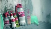Нови капачки и втори живот за празните бутилките от Кока Кола
