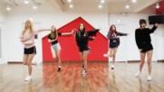 Gfriend Fingertip mirrored Dance Practice