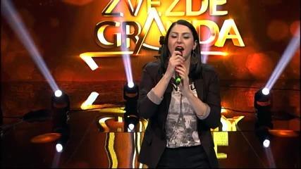 Aleksandra Nikolic - Gore od ljubavi - (Live) - ZG 2014 15 - 11.10.2014. EM 4.