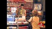 Голият мъж в супермаркета! Скрита камера