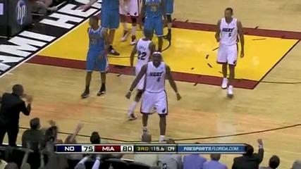 Hornets @ Heat 13.12.10