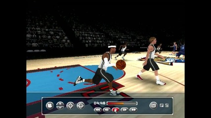 my gameplay for nba live 2006