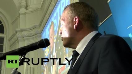 Министър-председателят на Дания Торинг-Шмид беше победена на изборите от опозиционния лидер Расмусен