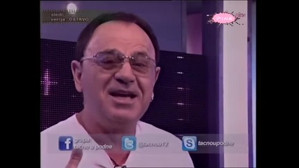 Mile Kitic - Bomba - Tacno u podne [14.03.] - (TV Pink 2012)