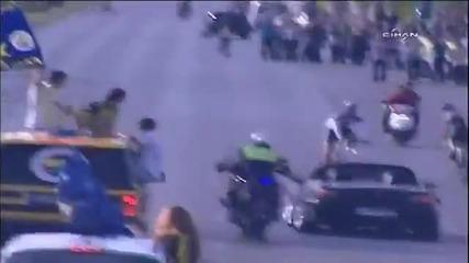 S2000 пред полицията