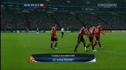 Манчестър Юнайтед 2 - 0 Шалке 04 Уейн Рууни Гол *hq*