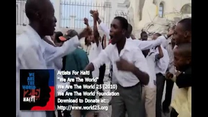 Artist For Haiti - We Are The World 25 ( Превод ) (2010)