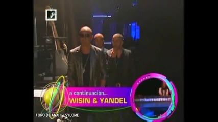 Anahi y Alfonso en backstage en Mtv Los Angeles 2009 por sylome