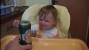 Мисля, че това бебе е родено алкохолик