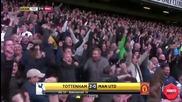 Highlights: Tottenham Hotspur - Manchester United 10/04/2016