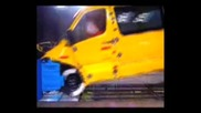 Sprinter V Transit Crash Test Дзъма
