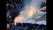 Феновете на Левски по време на Вечното дерби 09.05.2009