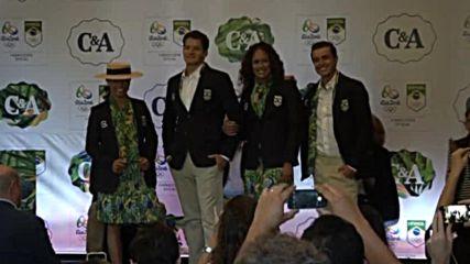Бразилия представи униформите за Олимпийските игри в Рио 2016