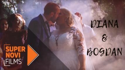 Миговете любов от сватбата на Диана и Богдан | Supernovi films, 2018