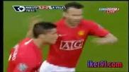 Manchester United - Aston Villa C.ronaldo 2 gol