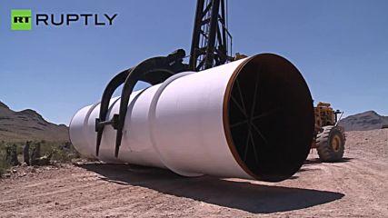 Hyperloop One Test Drives Super Speed Rail System
