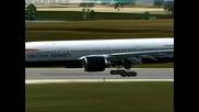 Kacane v Burgas Boeing 777