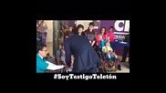 David Bisbal Visita Los Ninos de Un Crit de Teleton En Mexico 2015