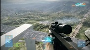 Battlefield 3 - Longest Headshot Ever