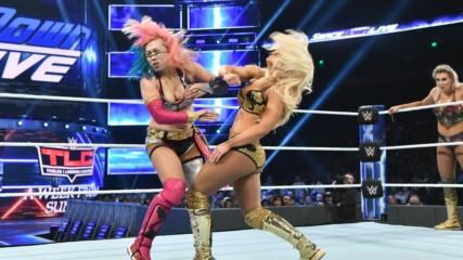Charlotte Flair & Asuka vs. Mandy Rose & Sonya Deville: SmackDown LIVE, Dec. 4, 2018