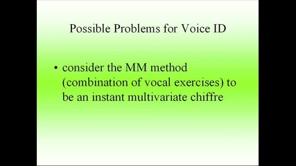 voice id and national security