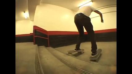 Страхотни трикове със скейтборд