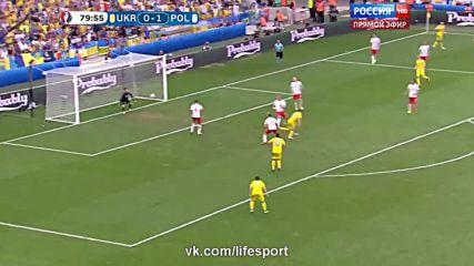 21.06.16 Украйна - Полша 0:1 * Евро 2016 *