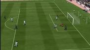 Fifa 13 - Гол със странична ножица на Иниеста