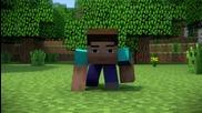 Minecraft Animation - Piston Problems !
