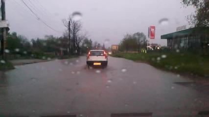 Софийските улици след 15мин дъжд!!!