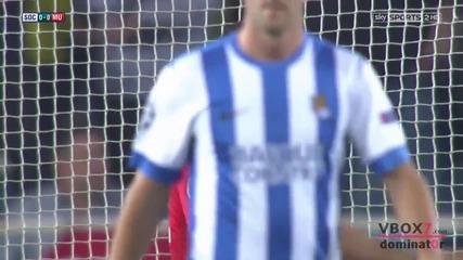 05.11.13 Реал Сосиедад 0 - 0 Манчестър Юнайтед - Най-доброто от мача