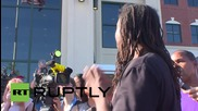 USA: Walter Scott shooting protest calls for emergency council meeting